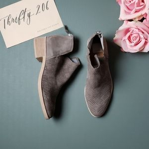 [Dolce Vita] 9.5 Tacey Grey Suede Booties NWOT